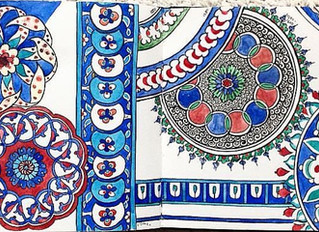 Researching patterns: Iznik ceramics