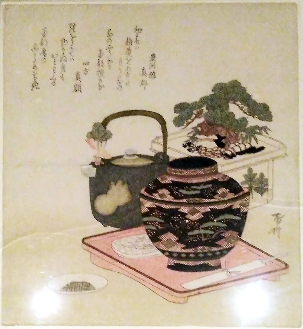 By Shins, Edo period, 1820.