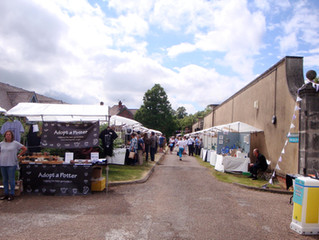 Earth & Fire International Ceramic Fair in Welbeck