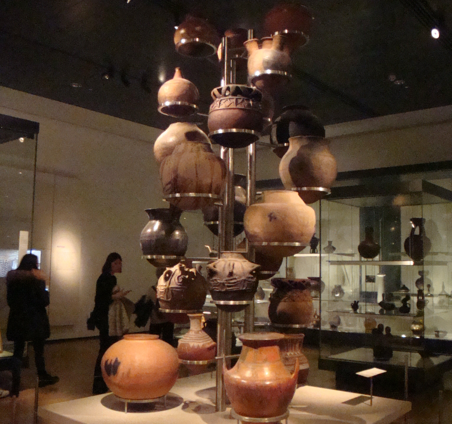 Display of Large Pots
