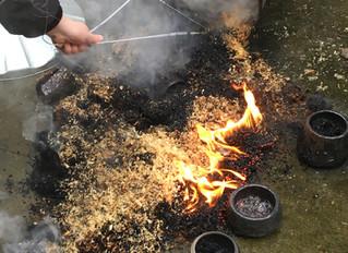 Another seasonal Raku firing session