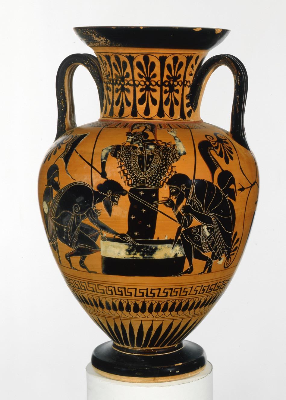 Greek neck-amphora ca. 510 B.C