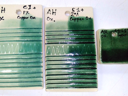 Searching for the right celadon glaze: part 2