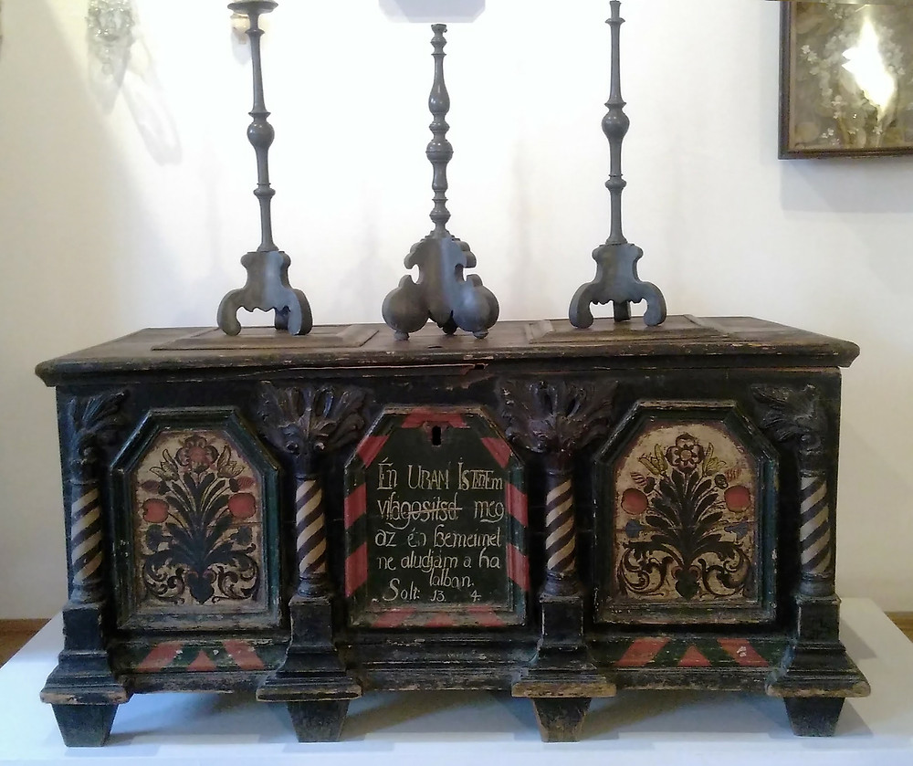 One of many painted chests