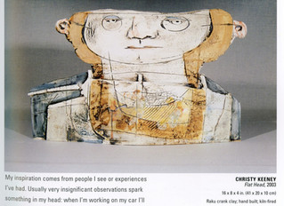 Research: human figure in clay