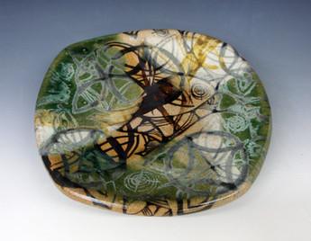 Developing my own take on Oribe-ware ceramics