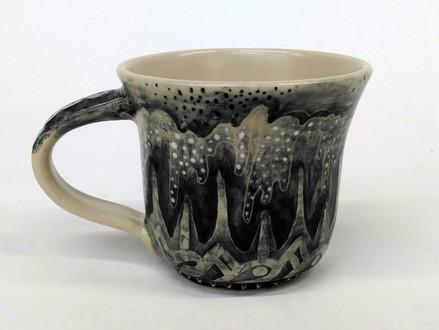 Surface decoration test on mug