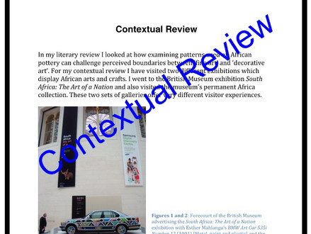 Literature & Contextual Reviews
