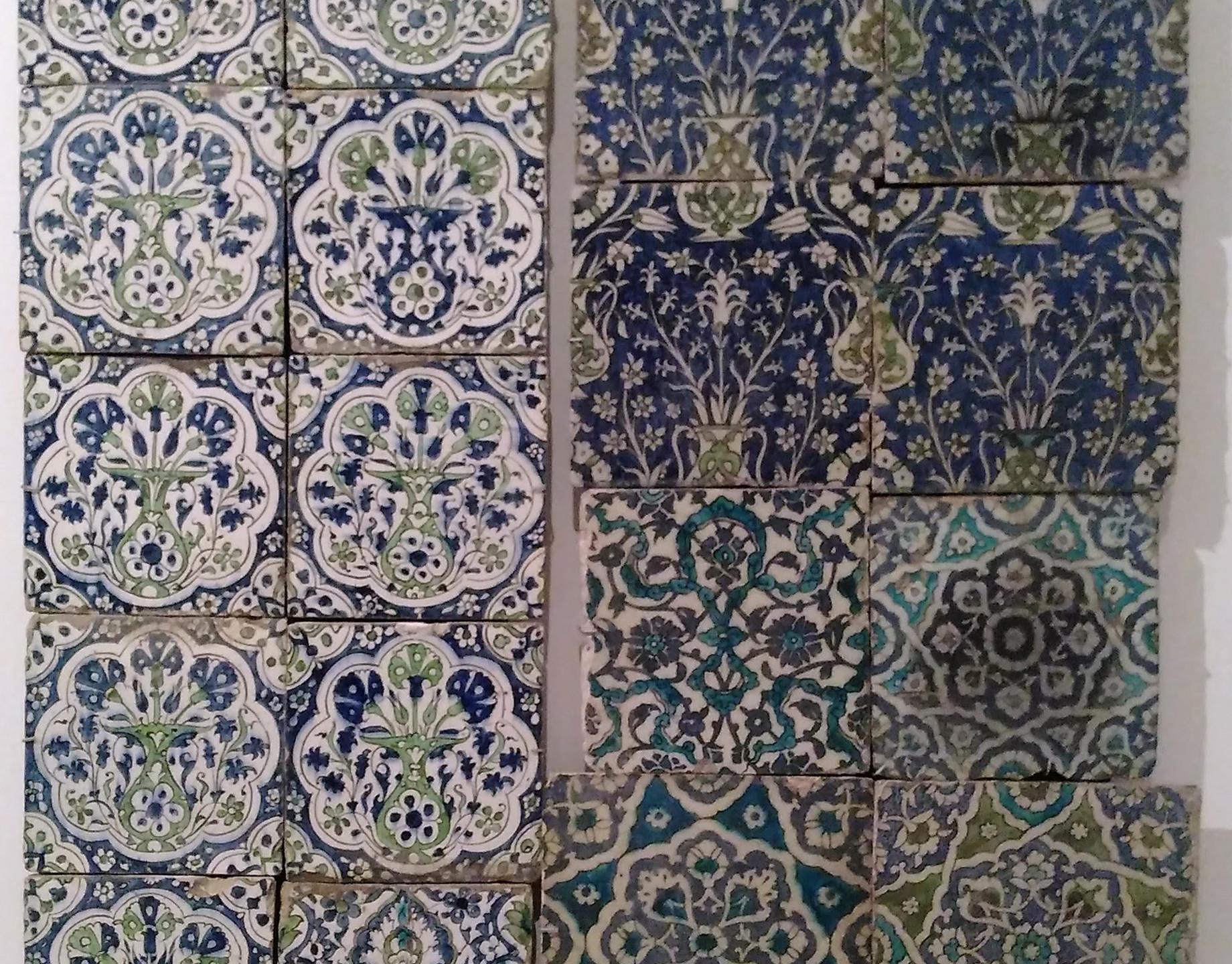 Syrian tiles