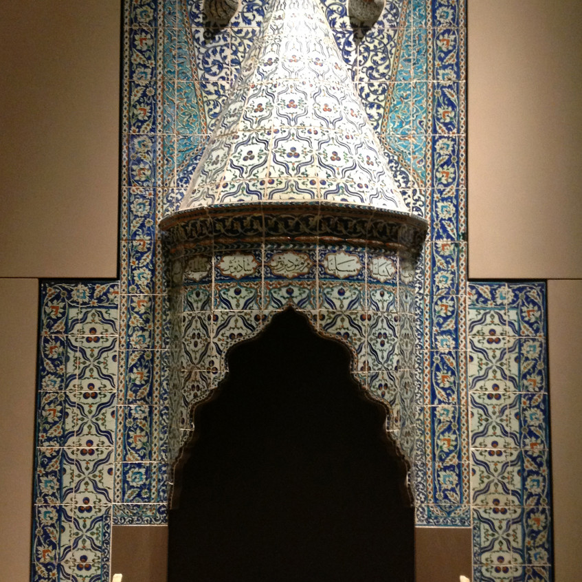 Iznik fireplace 1731