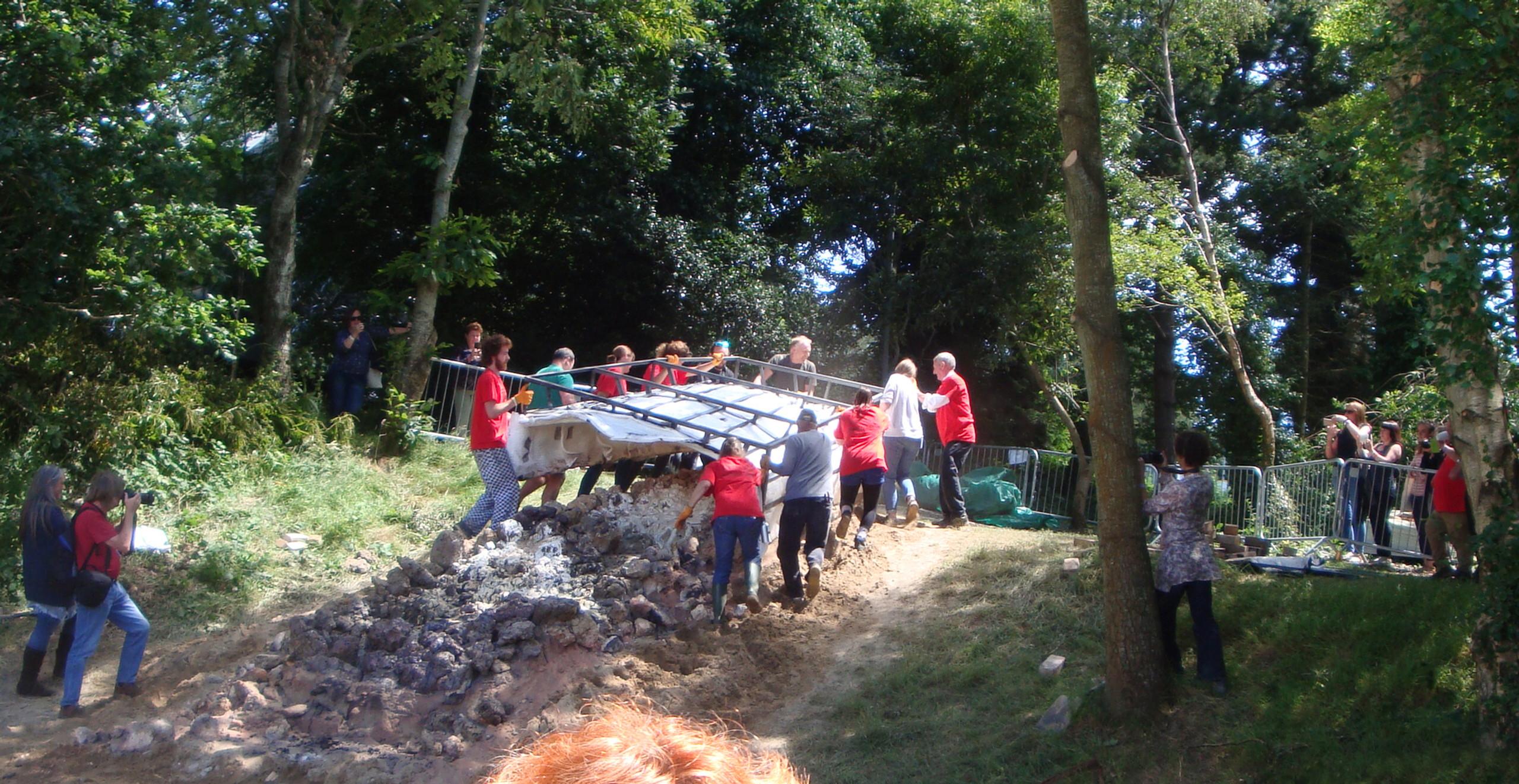 kiln removal