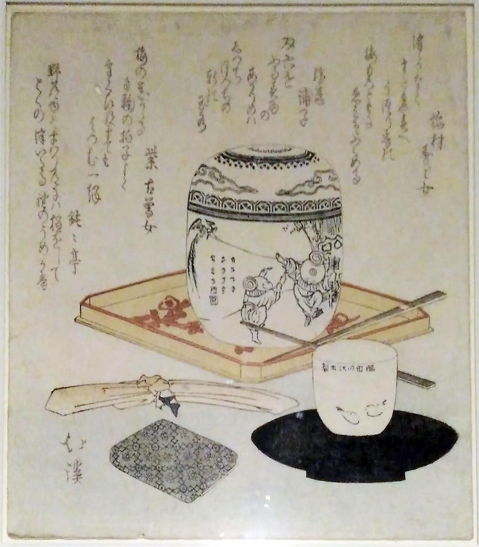 By Hokkei, Edo period, pre 1823.