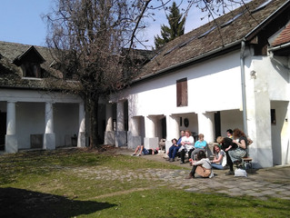 Study trip to the International Ceramics Studio in Kecskemet, Hungary