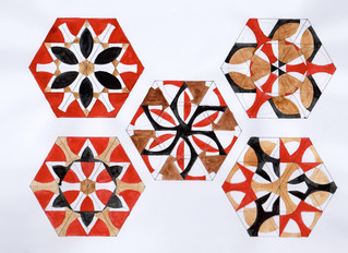 Second pattern trials: Working on Islamic inspired patterns