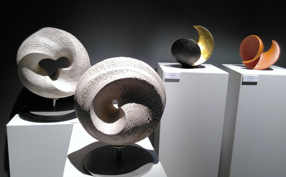Classed's larger sculptures