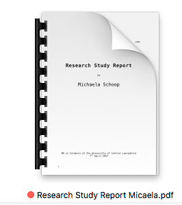 Research Study Report