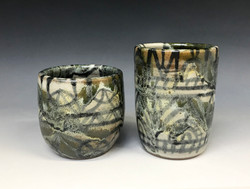 Oribe-style beakers