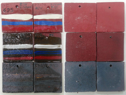 Testing different black and red clays: Part 1