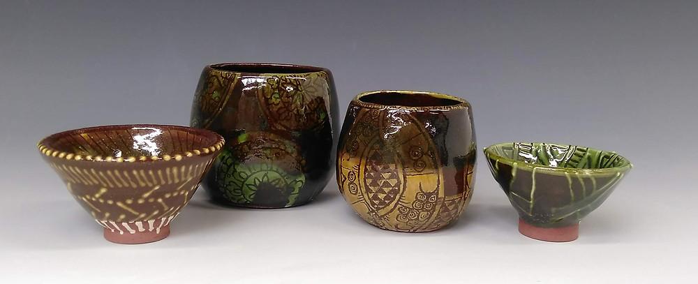 Second set of test pots