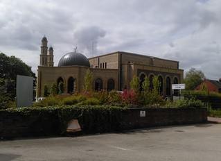 Visiting our local Masjid