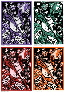 Four Christmas Cards