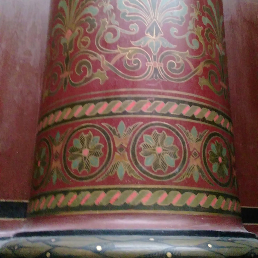 Column in Kunsthalle