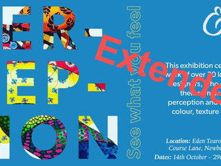 Perceptions Exhibition at Eden Galleries in Newburgh, Lancashire - Extended
