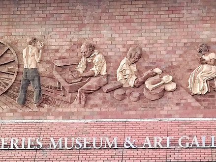 Day out visiting the Potteries in Stoke
