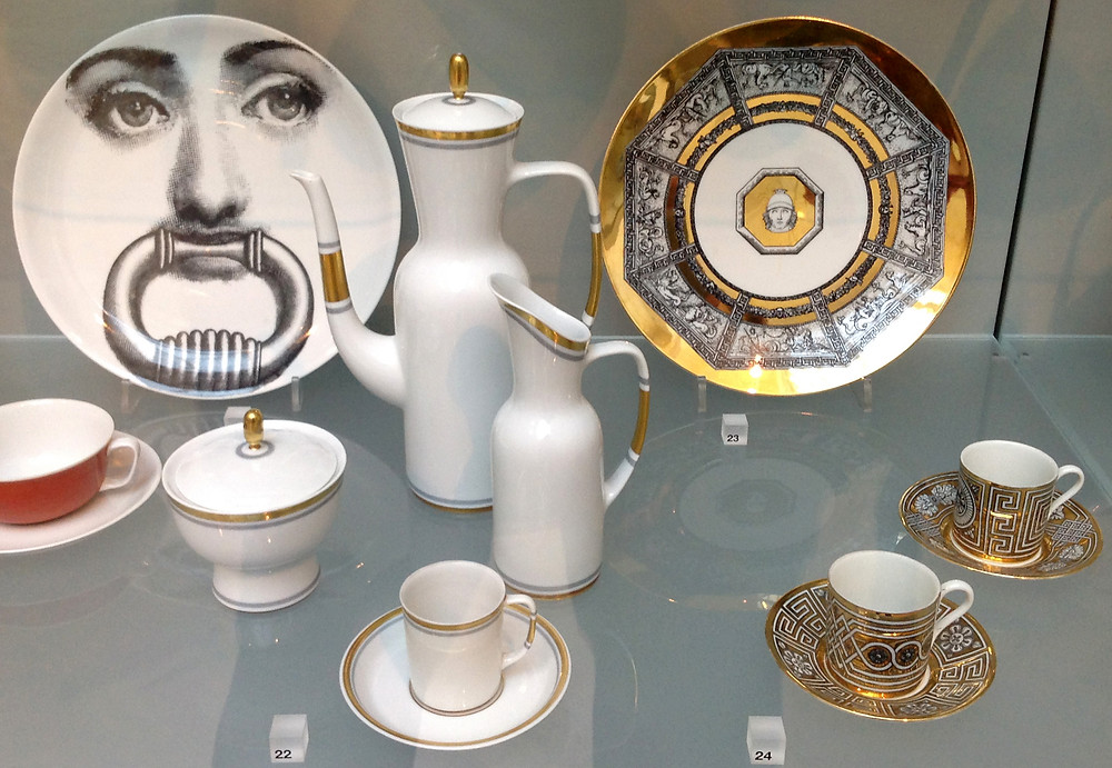 By Piero Fornasetti and Giovanni Garibaldi