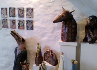 Visiting Meri Wells in her studio/home in Wales