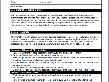Updated Learning Agreement, version 2