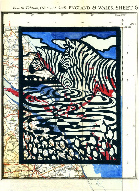 Zebras on the Humber