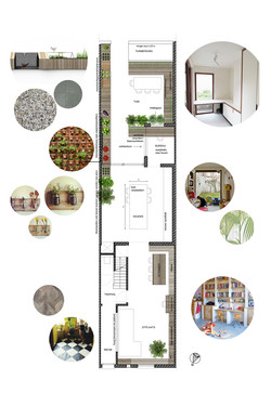 2014-Architectenbureau KNAP-1418-STUDIE-Interieur-stadstuin