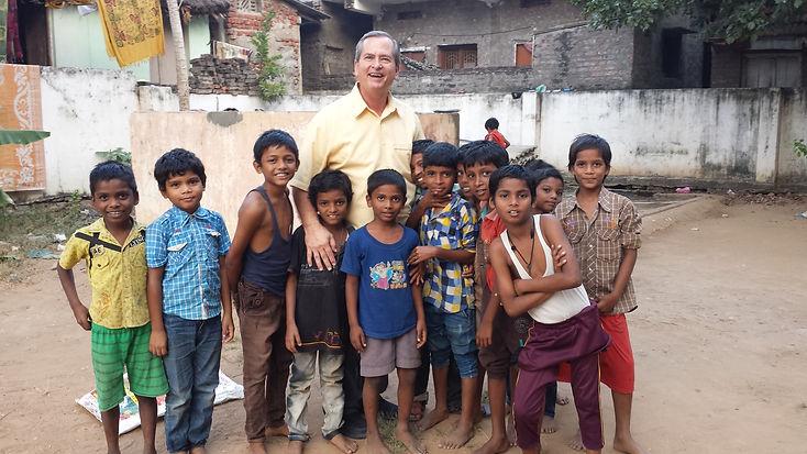 Galen Scott in India