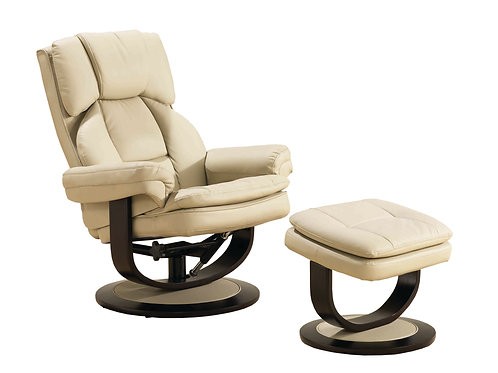 Copenhagen Recliner + Foot stool