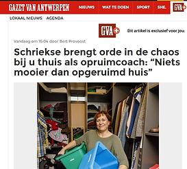 Gazet van Antwerpen 10/2/2018