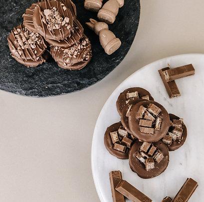 Obleas con Chocolate