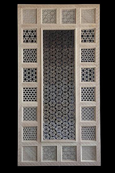 Black & White Jali Screen