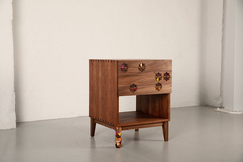 Pebble Legged Nightstand
