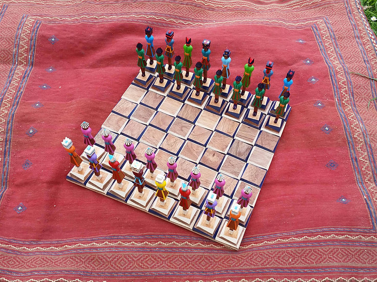 The Clan Chess Set