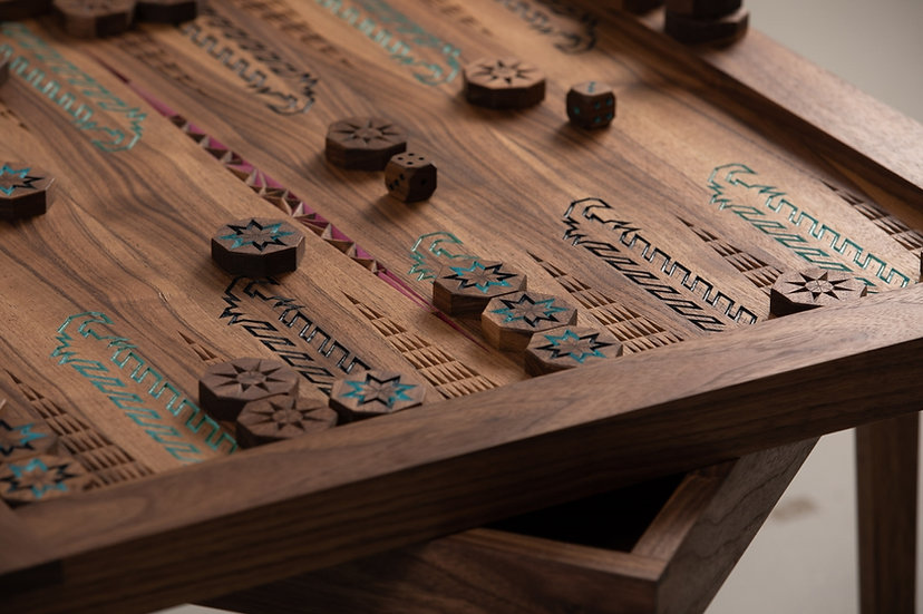Harvest Backgammon Board | Table