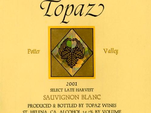 2001 Potter Valley Select Late Harvest Sauvignon Blanc