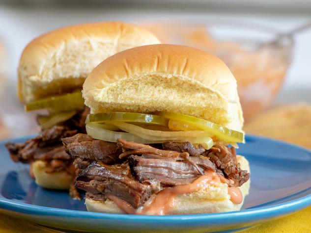 Barbacoa Beef Sliders