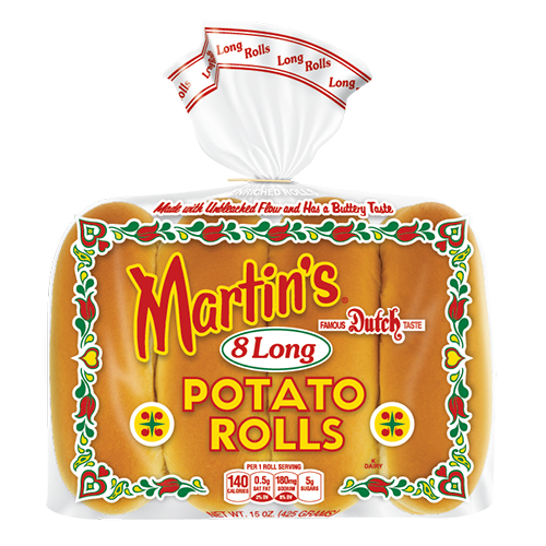 Long Potato Rolls