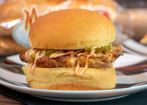 Oven-Baked Chicken-Sandwich