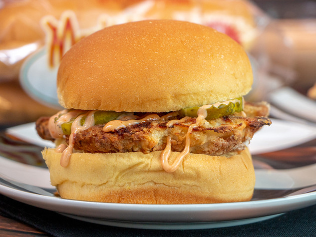 Oven-Baked Chicken Sandwich