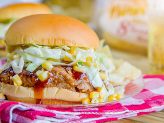 Pulled Pork with Sweet Corn Slaw