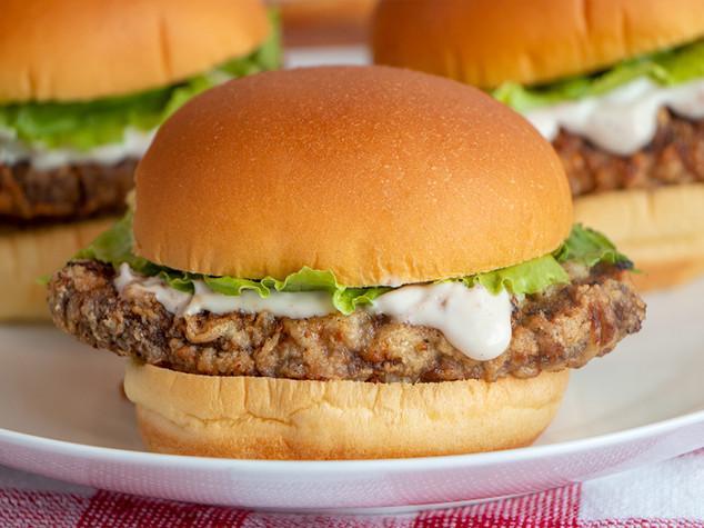 Chicken-Fried Steak Sandwiches