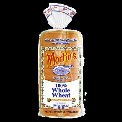 100% Whole Wheat Potato Bread