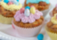 Carrot Cake Bread Pudding Cupcakes